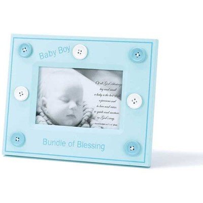 Bundle of Blessing Photo Frame, Blue  -