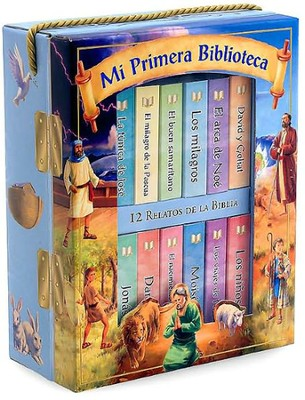 Mi Primera Biblioteca: 12 Relatos de la Biblia, My First Library: Bible Stories (boxed set)  -