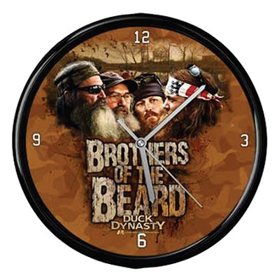Duck Dynasty, Brothers Of The Beard Clock  -