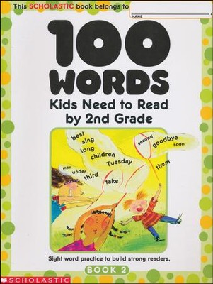 100 Words Kids Need to Read by 2nd Grade  -