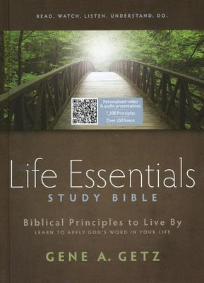 HCSB Life Essentials Study Bible, Hardcover  - Slightly Imperfect  -