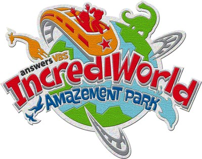 IncrediWorld Amazement Park VBS Iron-on Patches (Pack of 10)  -
