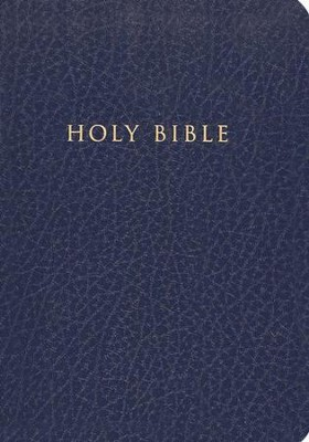 Holman Christian Standard Gift & Award Bible, Imitation leather, Blue  -