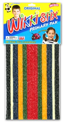Original Wikki Stix Primary Pak for Homeschoolers   -