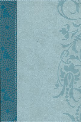 HCSB The Study Bible for Women, Teal and Aqua LeatherTouch, Thumb-Indexed  -