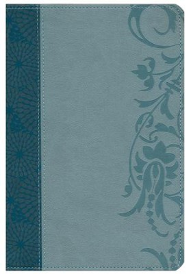 HCSB The Study Bible for Women, Teal and Aqua LeatherTouch  -