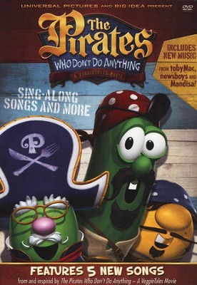The Pirates Who Don't Do Anything: Sing-Along Songs and More, VeggieTales DVD  -