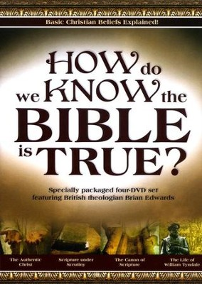 How Do We Know the Bible Is True? DVD Set   -     By: Brian Edwards