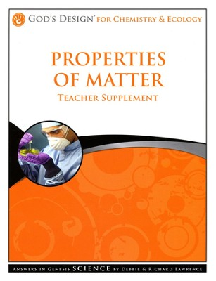 Teacher/Student Pack, Matter: God's Design Series      -     By: Debbie Lawrence, Richard Lawrence