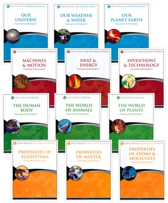 Full Teacher Supplement Set: God's Design for Science Series   -     By: Debbie Lawrence, Richard Lawrence