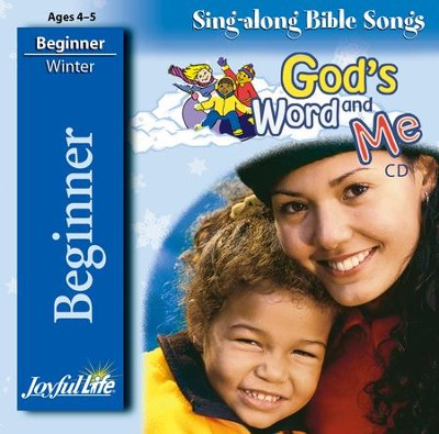 God's Word and Me Beginner (ages 4 & 5) Audio CD   -