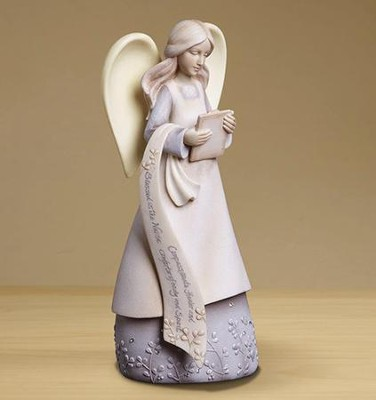 Nurse Angel Figurine  -     By: Karen Hahn