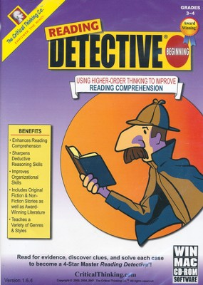 Reading Detective Beginning on CD-ROM     -