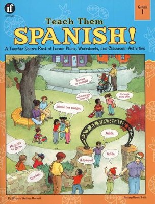 Teach Them Spanish! Grade 1  -