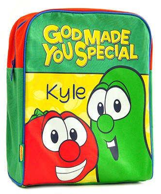 Personalized Bob and Larry VeggieTales Backpack   -