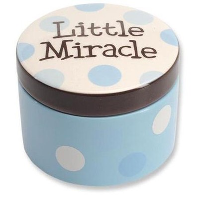 Little Miracle Keepsake Box, Blue  -