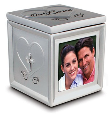 Our Love Photo Keepsake Box  -