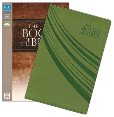 The Books of the Bible, NIV, Italian Duo-Tone, Green  -