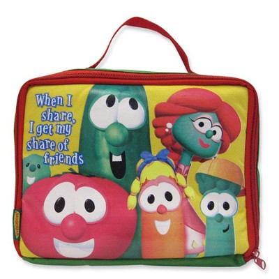 When I Share, I Get My Share of Friends, Veggietales Lunch Box  -