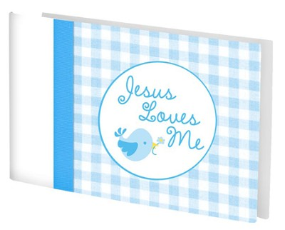 Jesus Love Me Photo Album, Blue  -