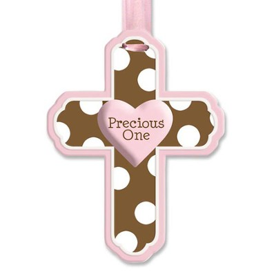 Precious One Wall Cross, Pink  -