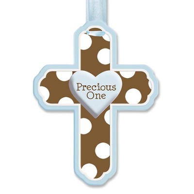 Precious One Wall Cross, Blue  -
