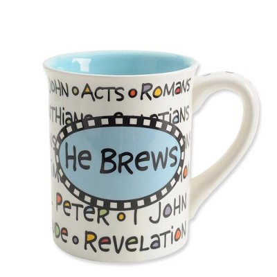 He Brews Mug  -     By: Lorrie Veasey