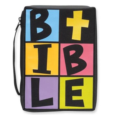 B.I.B.L.E. Bible Cover, Black  -