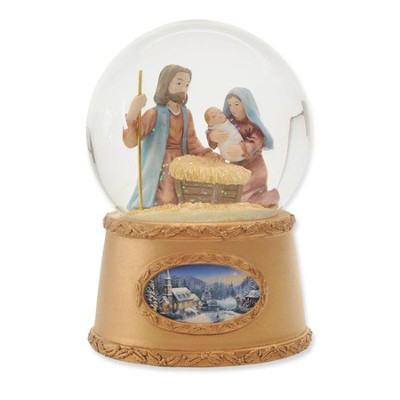 Thomas Kinkade Holy Family Water Globe  -     By: Thomas Kinkade