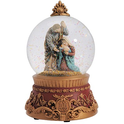 Holy Family Water Globe, Musical  -