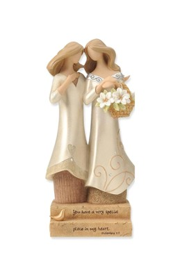 Sisters--Legacy of Love Figurine   -     By: Kim Lawrence