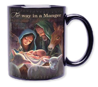 Away in a Manger Mug  -