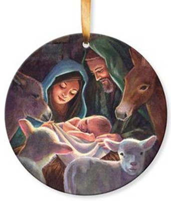 Away in a Manger Ornament  -