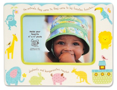 Noah's Animals Photo Frame  -