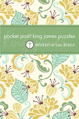 Pocket KJV Puzzles, People of the Bible  -