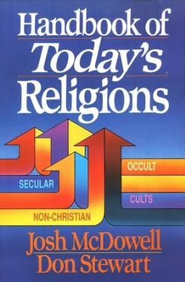 Handbook of Today's Religions - Slightly Imperfect   -