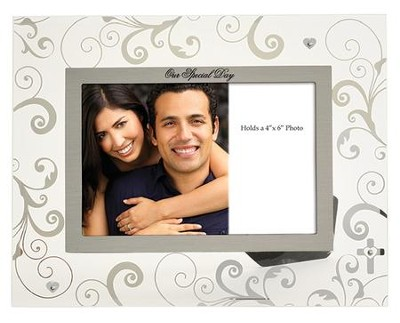 Our Special Day Glass Photo Frame  -