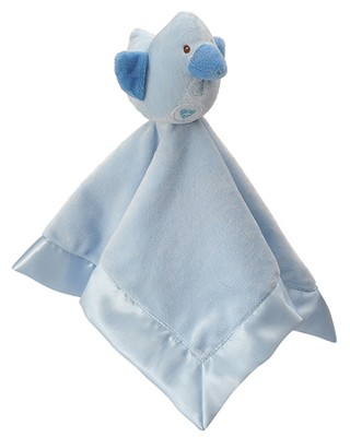 Heaven Sent Snuggle Blankie, with Bird, Blue  -