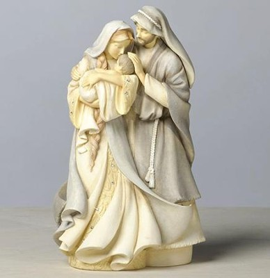 Foundations Holy Family Figurine   -     By: Karen Hahn
