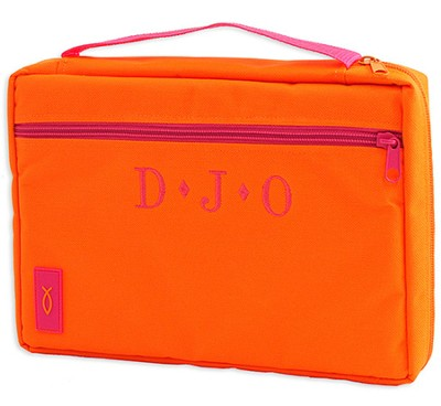 Personalized, Neon Canvas Cover, Orange, Extra Large   -
