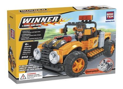 Remote Control Off-Road Truck (Orange)   -