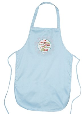 Jesus Is the Reason For the Season Apron  -