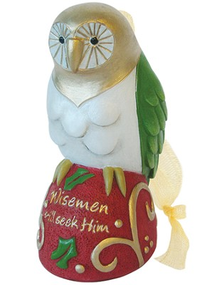 OWL, Wisemen Still Seek Him Ornament  -     By: Kim Lawrence