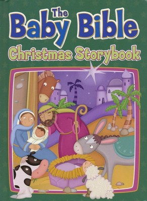 The Baby Bible Christmas Storybook   -     By: Robin Currie