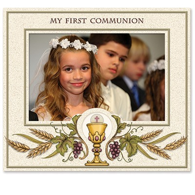 My First Communion Photo Frame  -