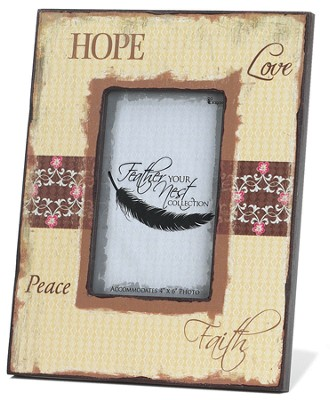 Hope Love Peace Faith Photo  -