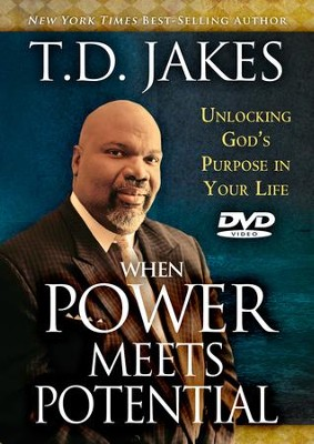 Power for Living DVD: When Power Meets Potential  -     By: T.D. Jakes