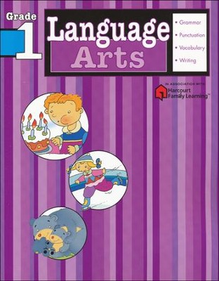 Language Arts Flash Kids Workbook, Grade 1   -     By: Flash Kids Editors