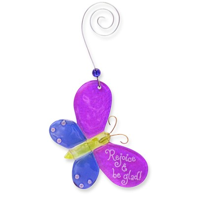 Rejoice and Be Glad, Butterfly Suncatcher  -