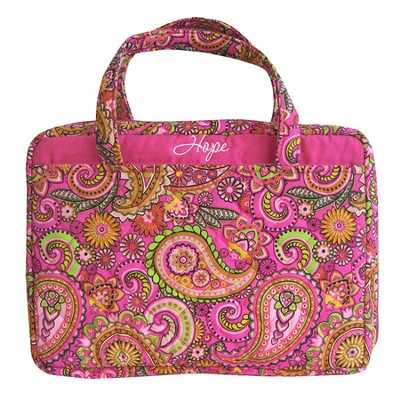 Hope Bible Cover, Pink Paisley, X-Large  -